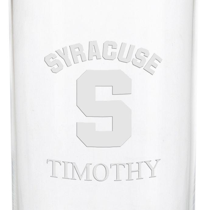 Syracuse University Iced Beverage Glasses - Set of 4 - Image 3