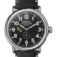 FSU Shinola Watch, The Runwell 47mm Black Dial