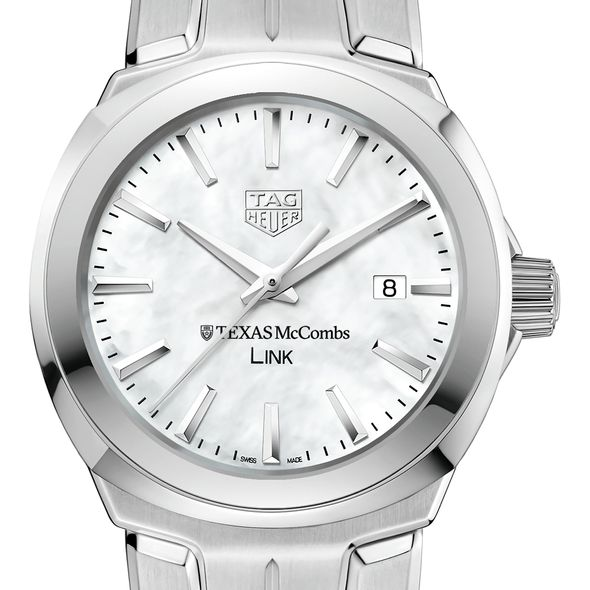 Texas McCombs TAG Heuer LINK for Women - Image 1