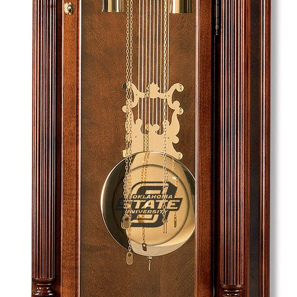 Oklahoma State University Howard Miller Grandfather Clock - Image 2