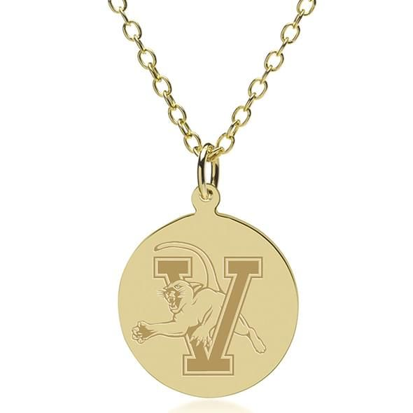 Vermont 18K Gold Pendant & Chain