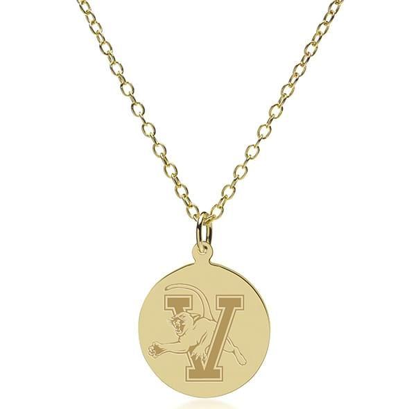 Vermont 18K Gold Pendant & Chain - Image 2