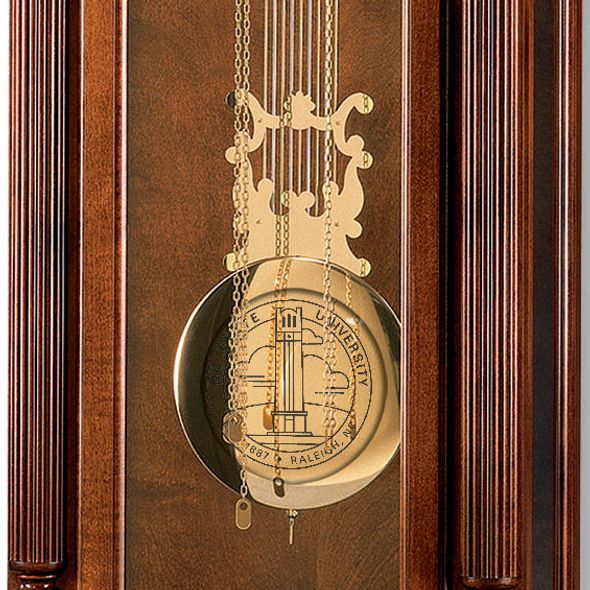 NC State Howard Miller Grandfather Clock - Image 2