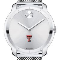 Texas Tech Men's Movado Stainless Bold 44