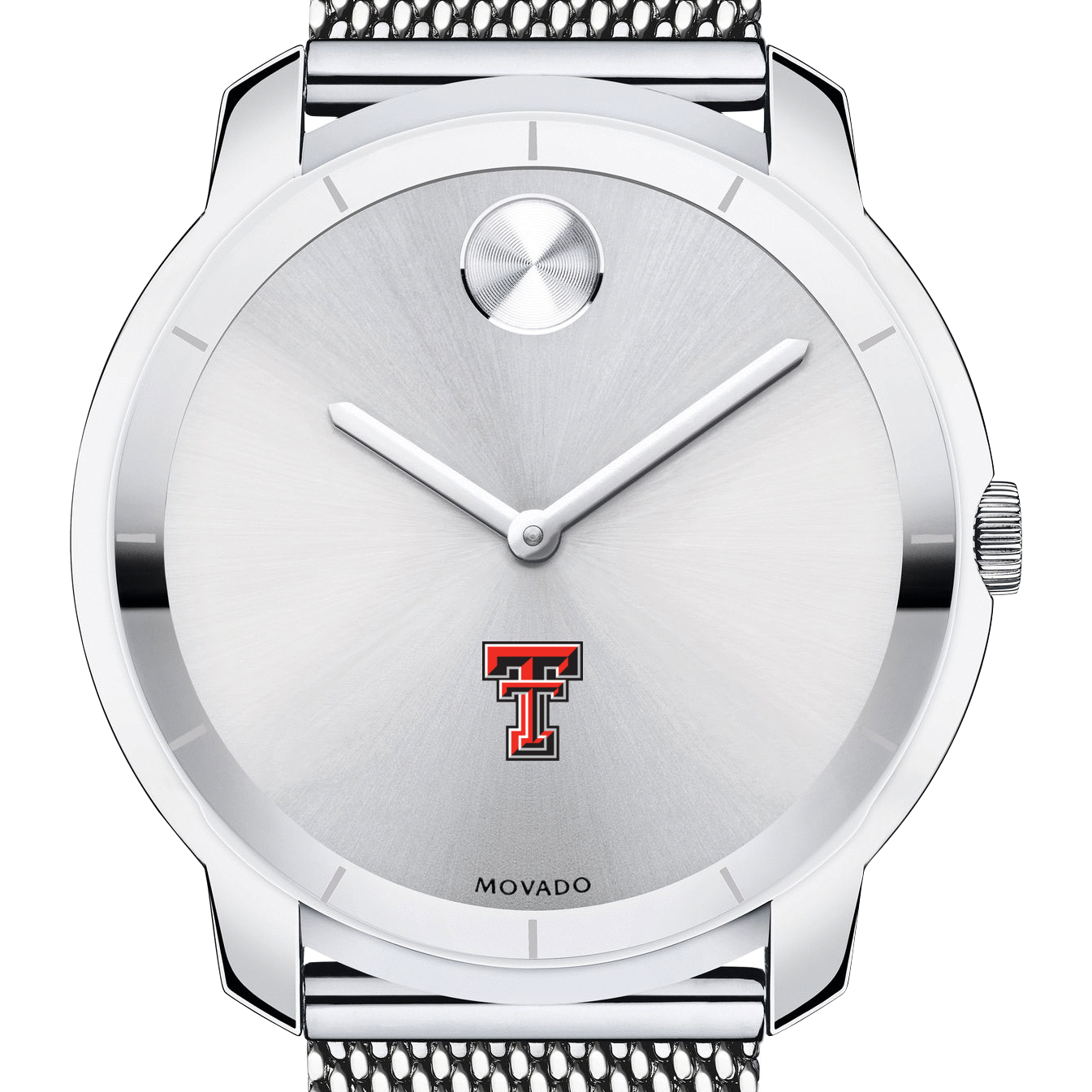 Texas Tech Men's Movado Stainless Bold 44 - Image 1