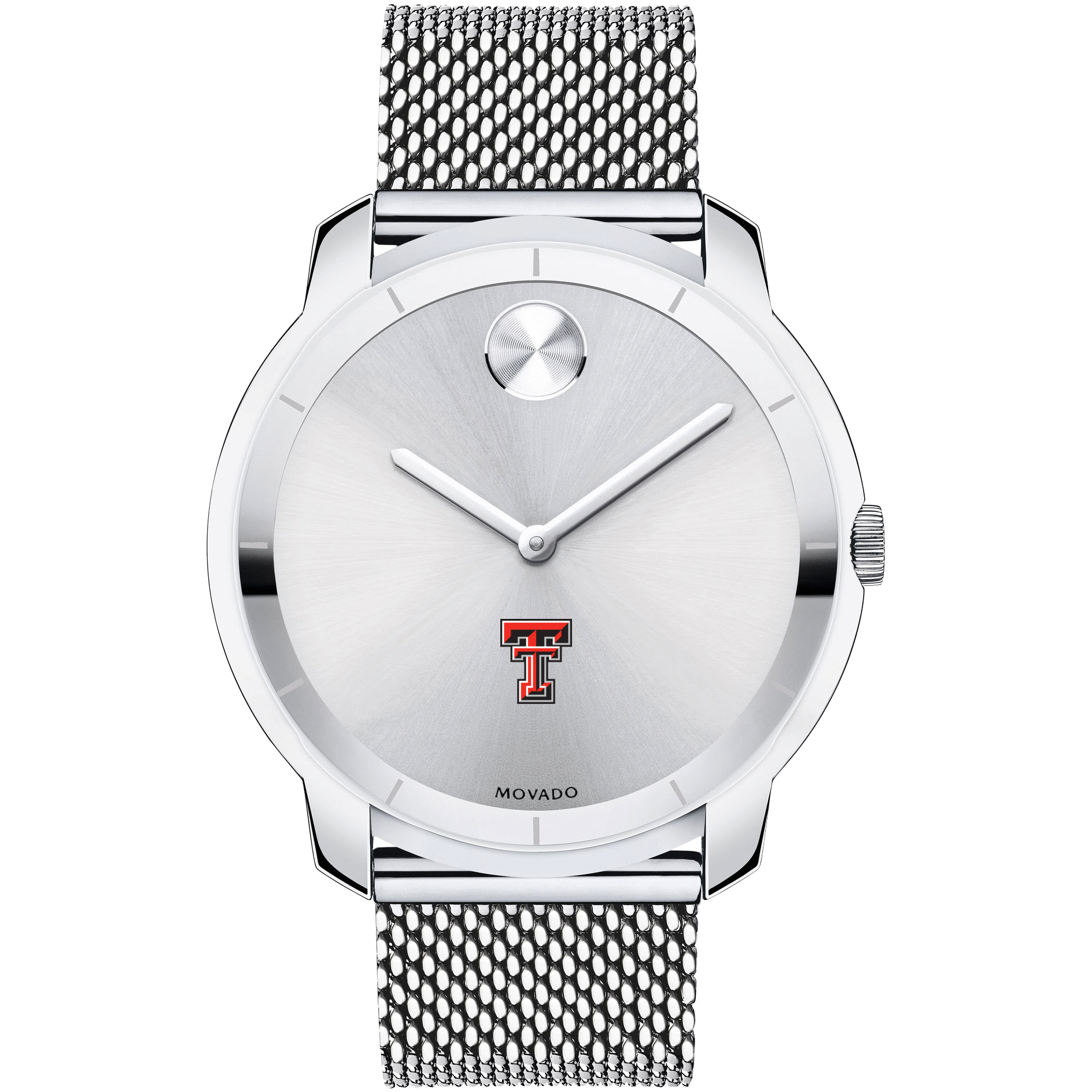 Texas Tech Men's Movado Stainless Bold 44 - Image 2