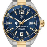 Indiana Men's TAG Heuer Two-Tone Formula 1 with Blue Dial & Bezel