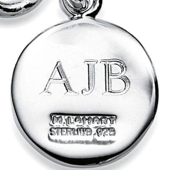 Mississippi State Sterling Silver Charm Bracelet - Image 3
