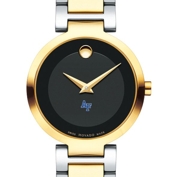 US Air Force Academy Women's Movado Two-Tone Modern Classic Museum with Bracelet