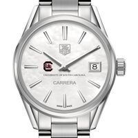 South Carolina Women's TAG Heuer Steel Carrera with MOP Dial