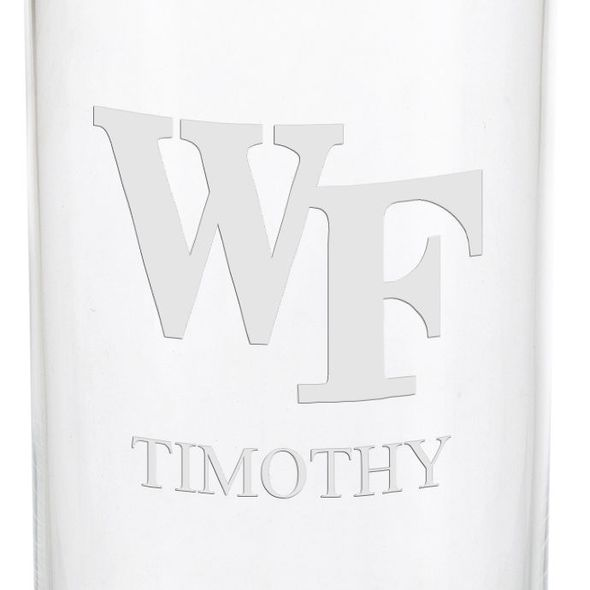 Wake Forest Iced Beverage Glasses - Set of 2 - Image 3