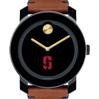 Stanford University Men's Movado BOLD with Brown Leather Strap