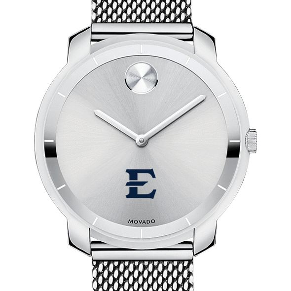 East Tennessee State University Women's Movado Stainless Bold 36