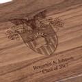 US Military Academy Solid Walnut Desk Box - Image 3