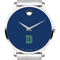 Dartmouth College Men's Movado Museum with Blue Dial & Mesh Bracelet