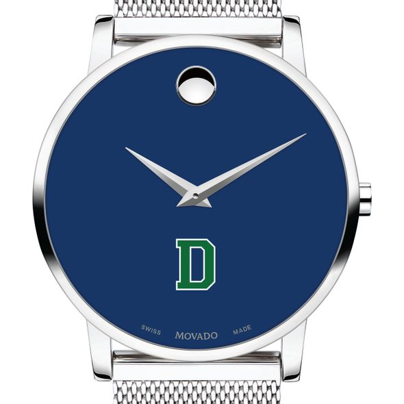 Dartmouth College Men's Movado Museum with Blue Dial & Mesh Bracelet - Image 1