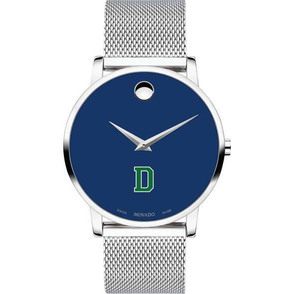 Dartmouth College Men's Movado Museum with Blue Dial & Mesh Bracelet - Image 2