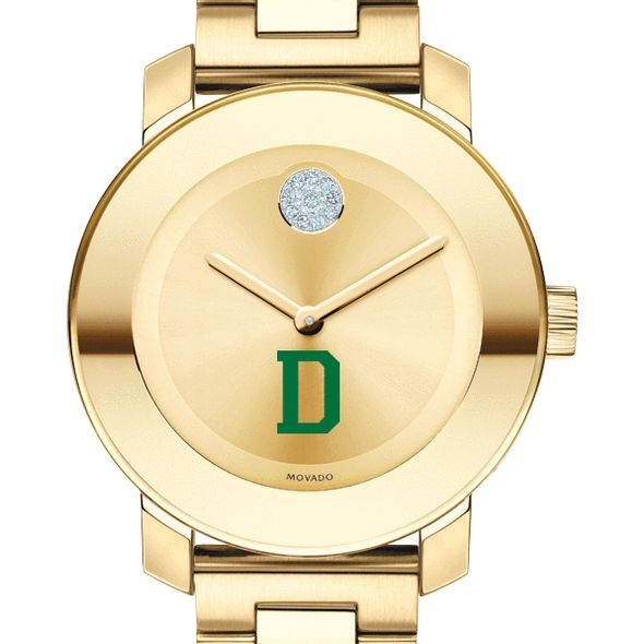 Dartmouth College Women's Movado Gold Bold