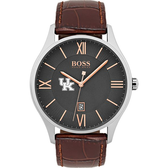 University of Kentucky Men's BOSS Classic with Leather Strap from M.LaHart - Image 2