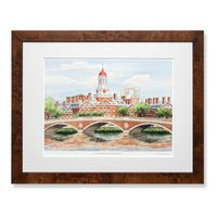 Harvard Campus Print- Limited Edition, Large