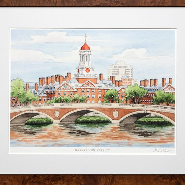 Harvard Campus Print- Limited Edition, Large - Image 2