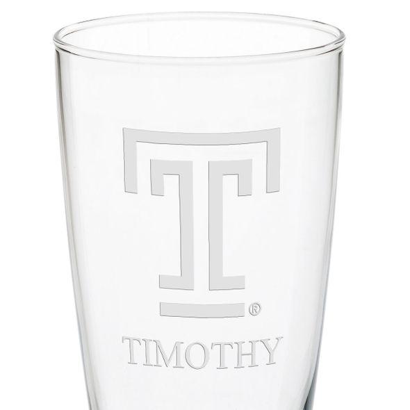 Temple 20oz Pilsner Glasses - Set of 2 - Image 3