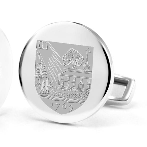 Dartmouth College Cufflinks in Sterling Silver - Image 2