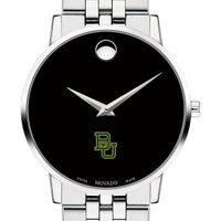 Baylor University Men's Movado Museum with Bracelet