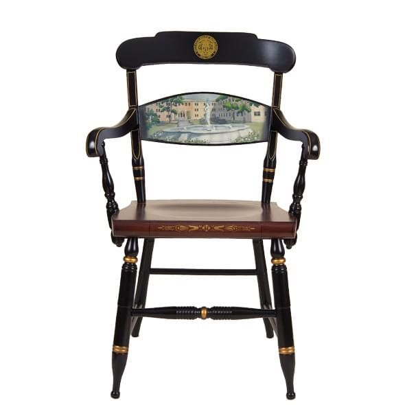 Hand-painted US Merchant Marine Academy Campus Chair by Hitchcock