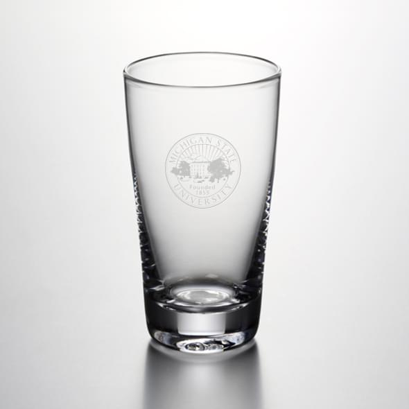 Michigan State Ascutney Pint Glass by Simon Pearce