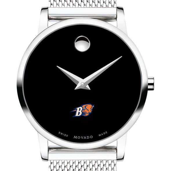 Bucknell University Women's Movado Museum with Mesh Bracelet - Image 1