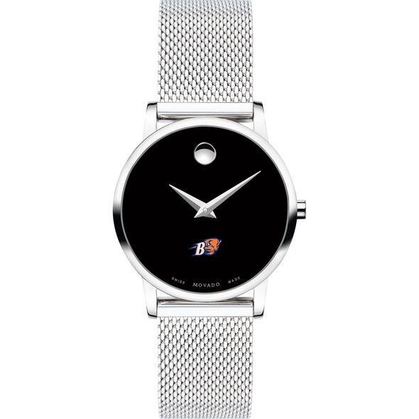 Bucknell University Women's Movado Museum with Mesh Bracelet - Image 2