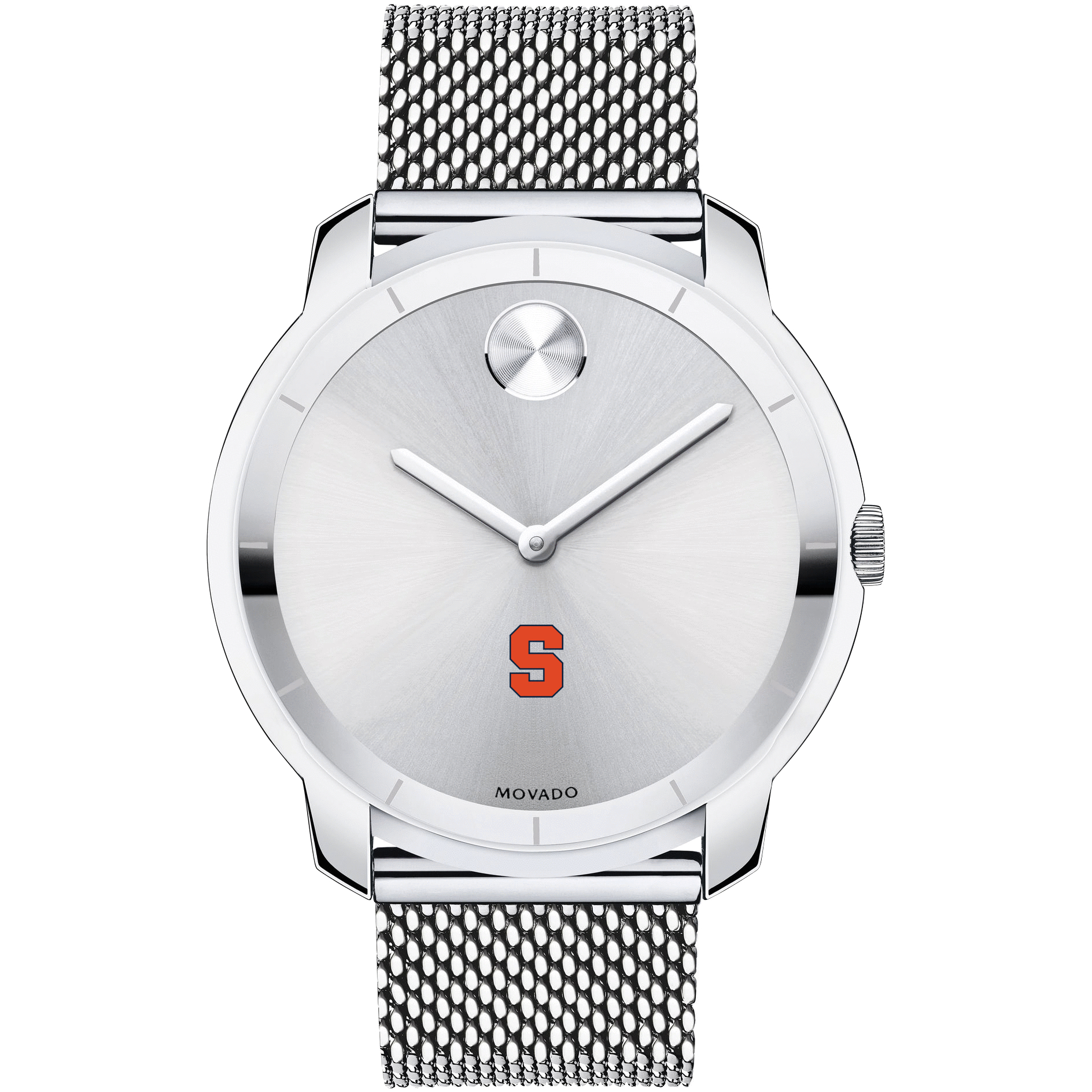 Syracuse University Men's Movado Stainless Bold 44 - Image 2
