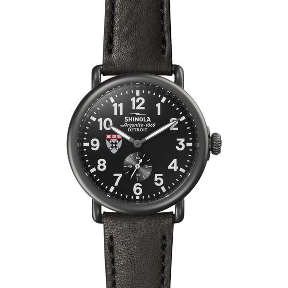 HBS Shinola Watch, The Runwell 41mm Black Dial - Image 2