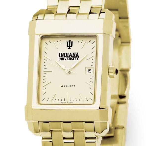 Indiana University Men's Gold Quad with Bracelet - Image 1