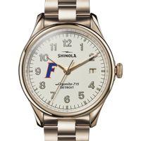 Florida Shinola Watch, The Vinton 38mm Ivory Dial