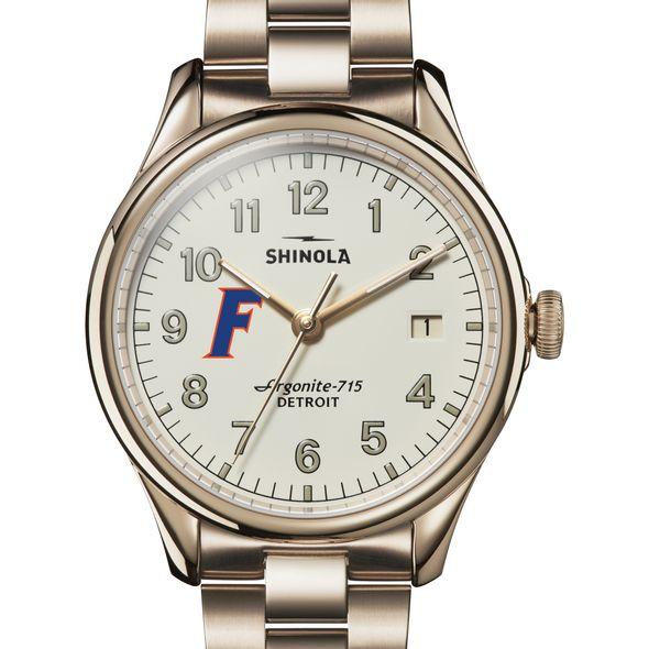 Florida Shinola Watch, The Vinton 38mm Ivory Dial - Image 1