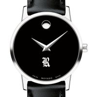 Rice University Women's Movado Museum with Leather Strap
