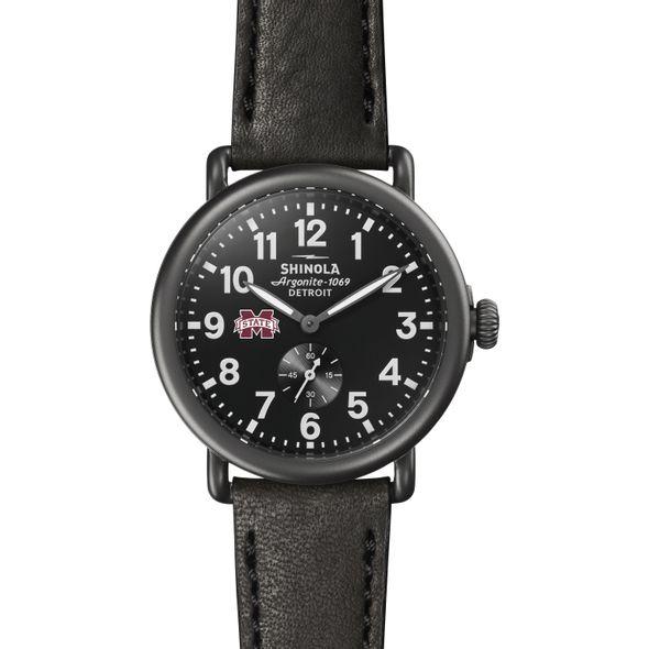 MS State Shinola Watch, The Runwell 41mm Black Dial - Image 2