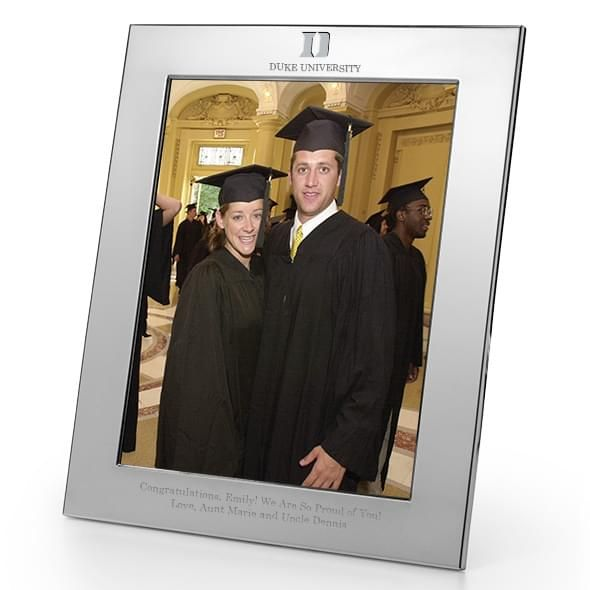 Duke Polished Pewter 8x10 Picture Frame