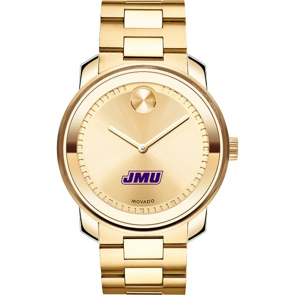 James Madison University Men's Movado Gold Bold - Image 2