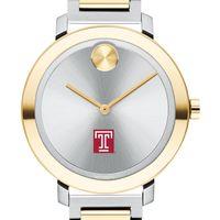 Temple University Women's Movado Two-Tone Bold 34