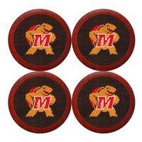 Maryland Needlepoint Coasters
