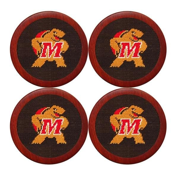 Maryland Needlepoint Coasters