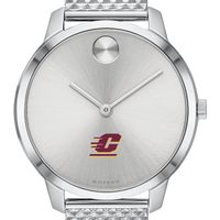 Central Michigan University Women's Movado Stainless Bold 35