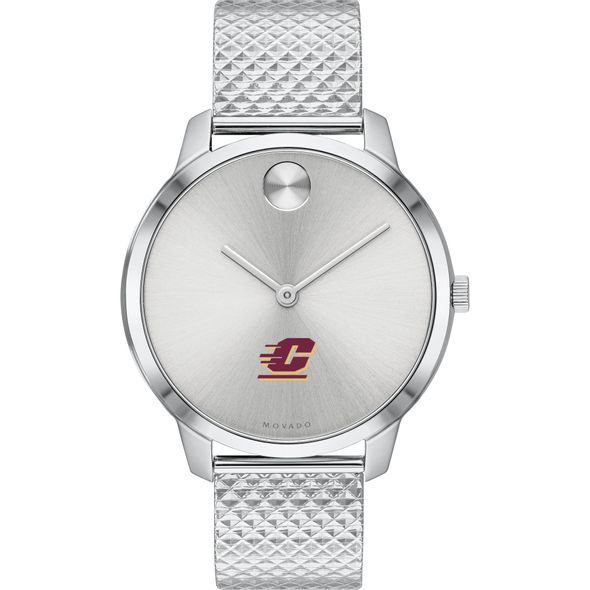 Central Michigan University Women's Movado Stainless Bold 35 - Image 2