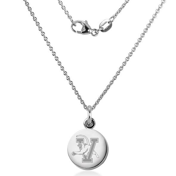 University of Vermont Necklace with Charm in Sterling Silver - Image 2