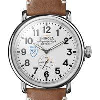 Emory Shinola Watch, The Runwell 47mm White Dial