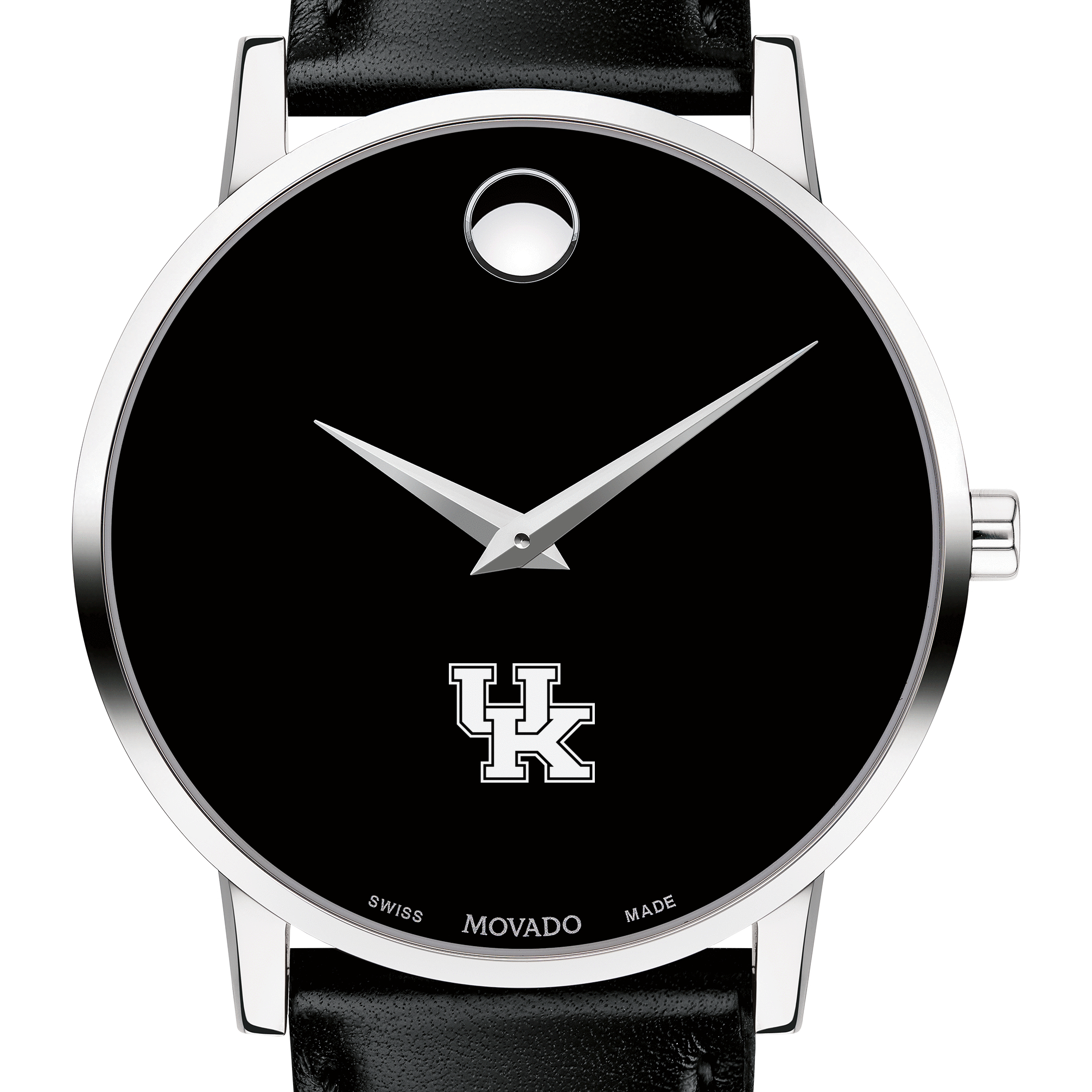 Kentucky Men's Movado Museum with Leather Strap