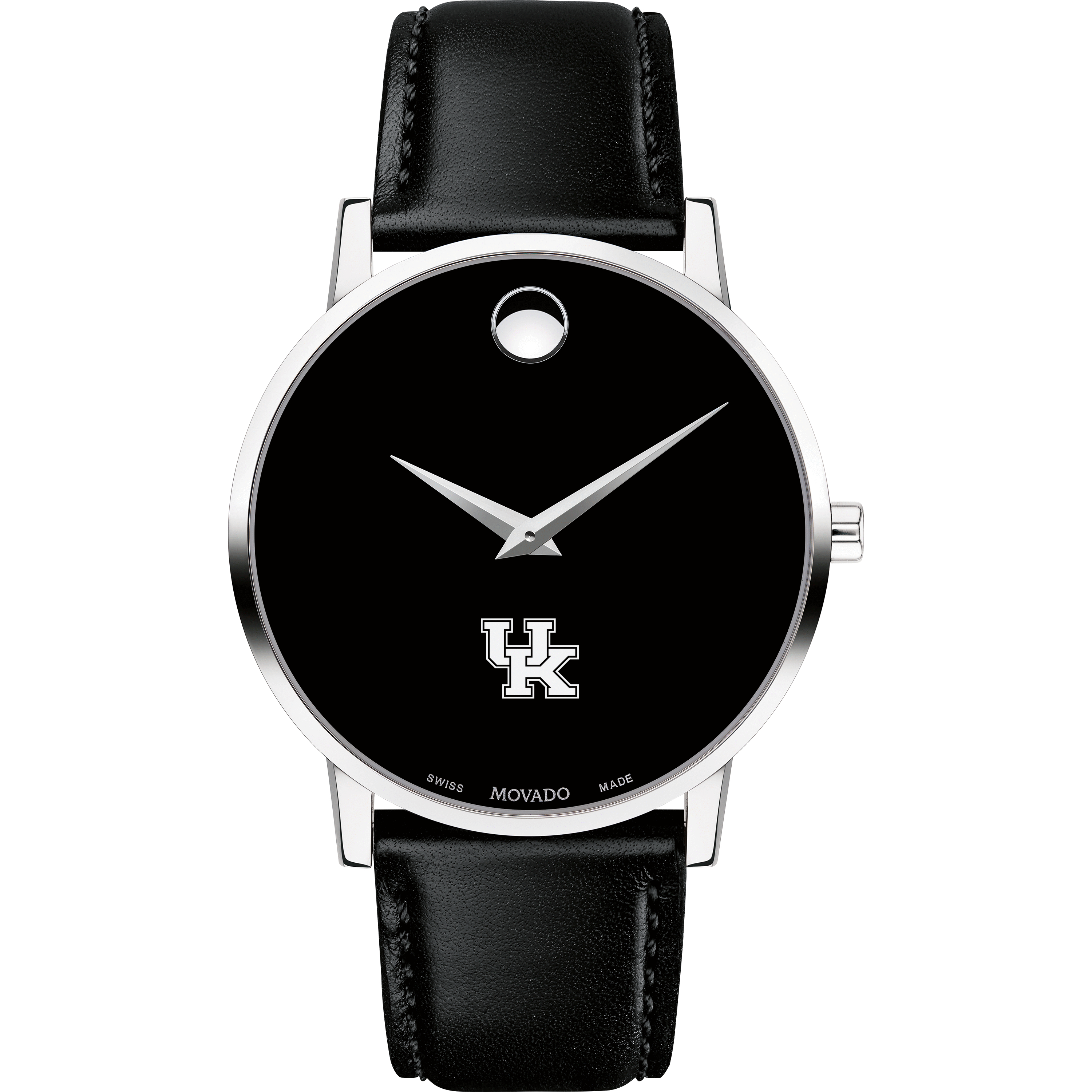 Kentucky Men's Movado Museum with Leather Strap - Image 2